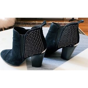 MICHAEL Michael Kors suede studded boots